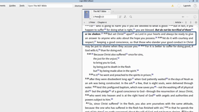 Researching Exegetical Issues in 1 Peter 3:15