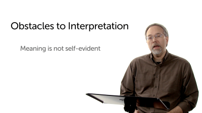 Introduction: Meaning Is Not Self-Evident