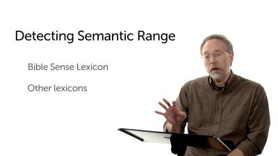 Detecting Semantic Range