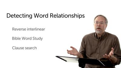 Determining Word Relationships
