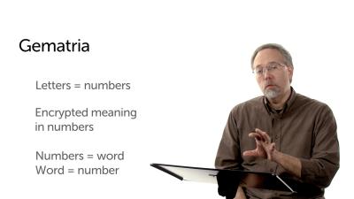 Gematria as a Literary Device