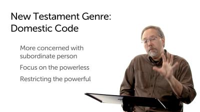 New Testament Domestic Code