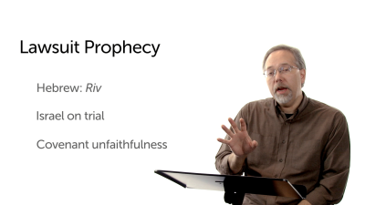 The Lawsuit Subgenre of Prophecy
