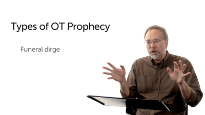 The Funeral Dirge Subgenre of Prophecy