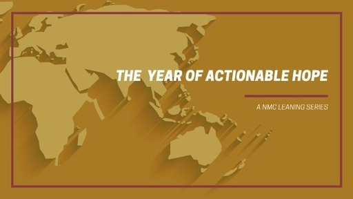 The Year of Actonable Hope
