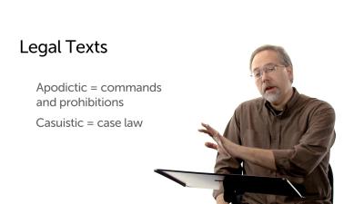 Old Testament Legal Texts