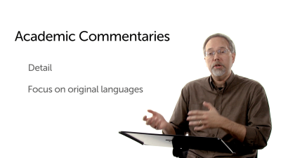 Scholarly Commentaries
