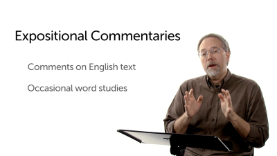 Expositional Commentaries