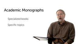 Academic Monographs