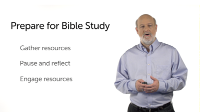 Why Bible Study Matters