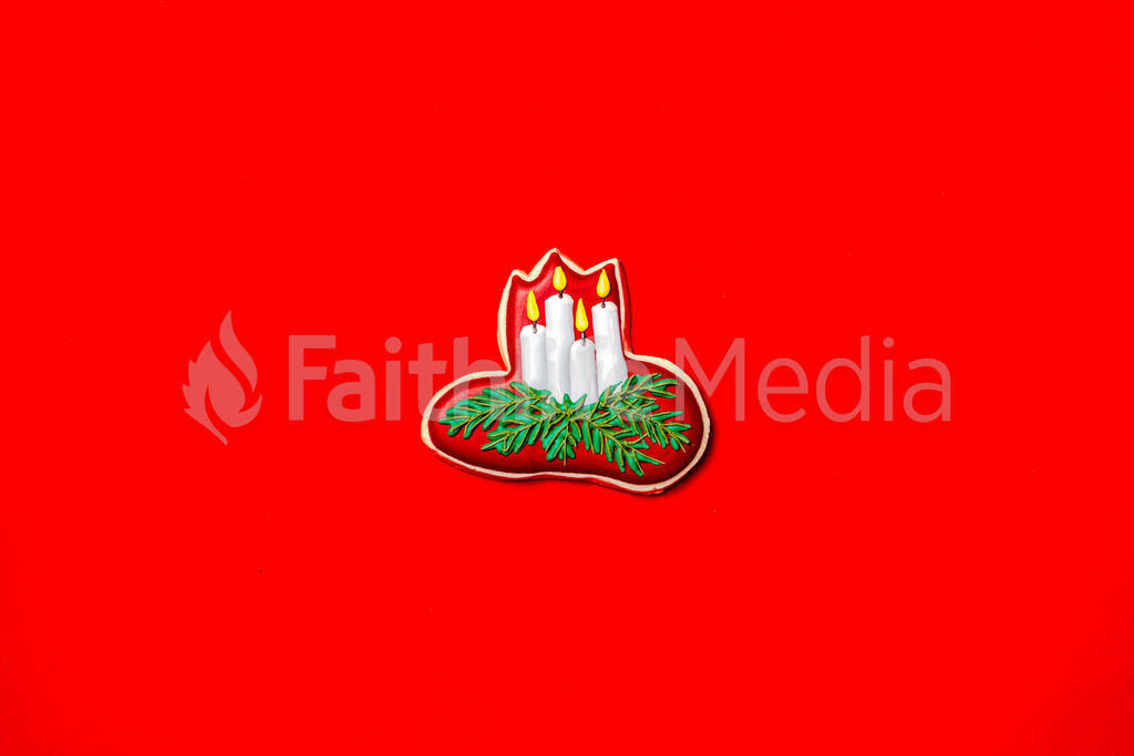 Star of Bethlehem Christmas Cookie large preview