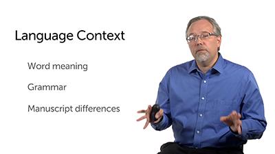 Language Context