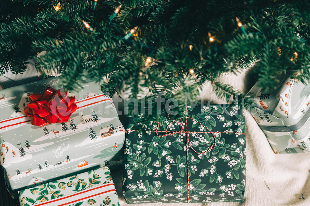 Christmas Gifts Under the Tree large preview