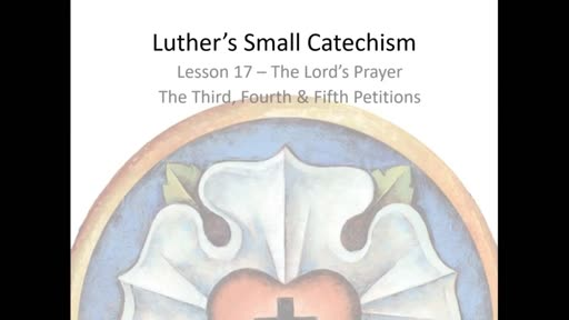 Catechism Class - January 13, 2021