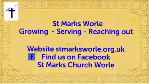 St Mark's Online service 03 Jan