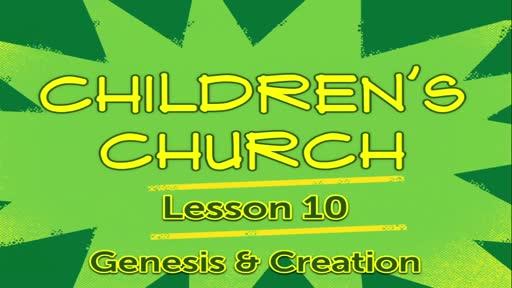 Children Church - Lesson 10