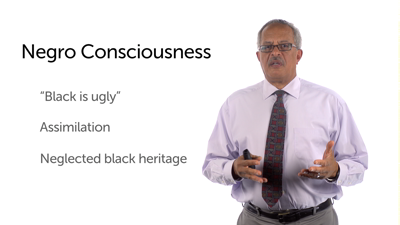 "Before Black Consciousness: ""Black Is Ugly"""