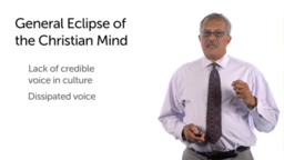 Apologetics: Addressing the Eclipse of the Christian Voice
