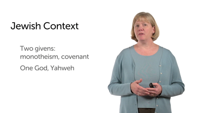 New Testament: The Jewish Context