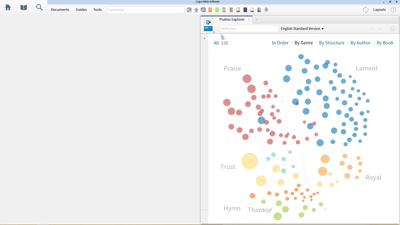 Discovering Parallelism in the Psalms with the Psalms Explorer