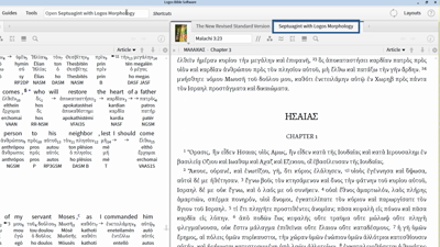 Accessing the Apocrypha in Logos