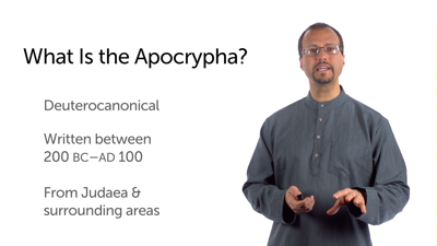 What Is the Apocrypha, and Where Does It Come From?