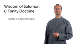 Wisdom of Solomon and Early Christian Theology
