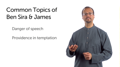 Ben Sira and the Teachings of James