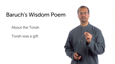 Baruch: Torah and Repentance