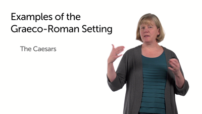 Working with a Graeco-Roman Setting