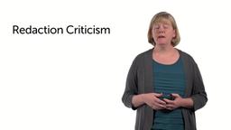 Redaction Criticism