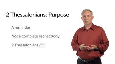 The Context of 2 Thessalonians