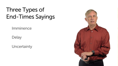 Mark: Types of End-Time Sayings
