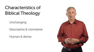 The Methodology of Biblical Theology