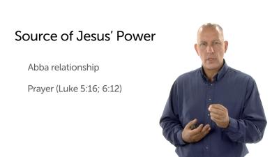 The Source of Jesus' Power