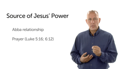 The Source of Jesus' Power