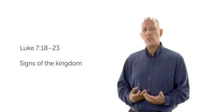 Jesus Reveals the Kingdom
