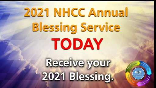 1-10-21 - Annual Blessing Service
