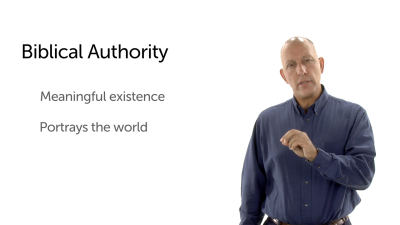 The Authority of the Biblical Story