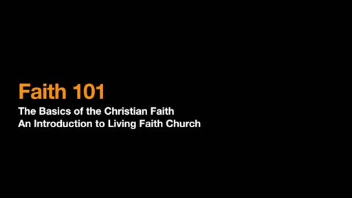 Faith 101 -Section 1