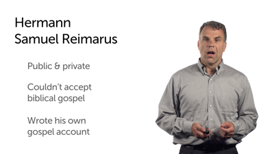 Quest for the Historical Jesus: Reimarus