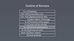 Background of Romans