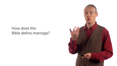 Marriage in the Bible