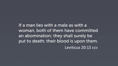 Levitical Laws
