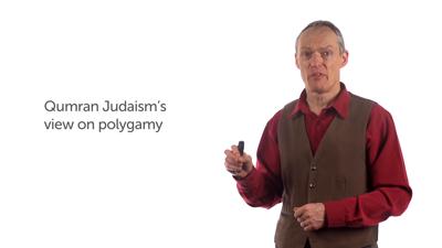 Old Testament Monogamy According to Qumranic Judaism