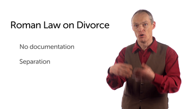 Roman Divorce by Separation in Paul