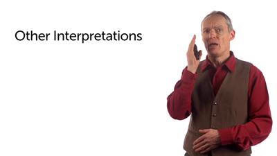 Other Interpretations of Jesus' Teaching