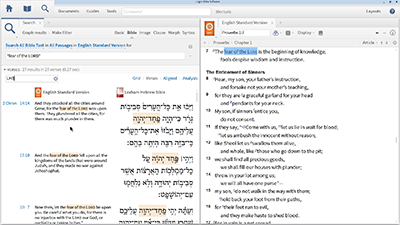 "Finding the ""Fear of the Lord"" and ""Knowledge"" with Proximity Searching"