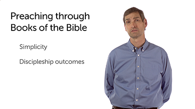 Three Reasons for Preaching through Books
