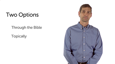 Two Options for Preaching